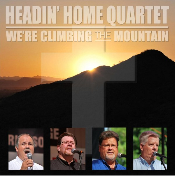Image of We're Climbing The Mountain CD cover.